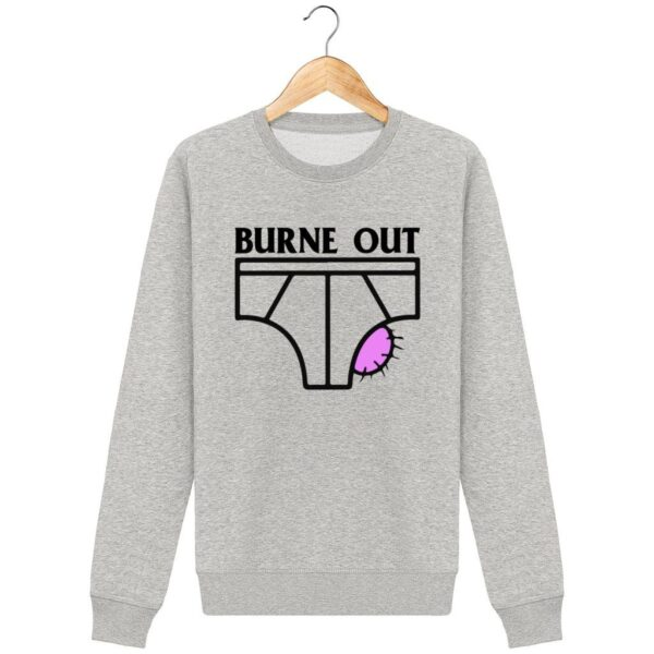 Sweat Burne Out - Pour Homme