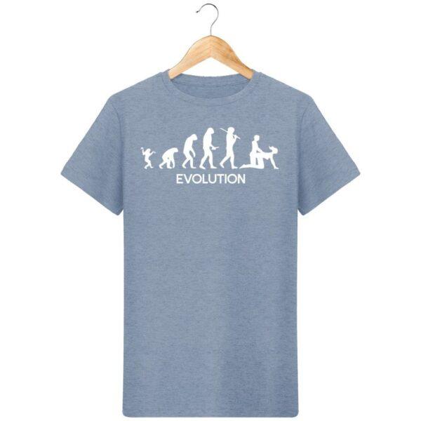 T-Shirt  Evolution  – Pour Homme