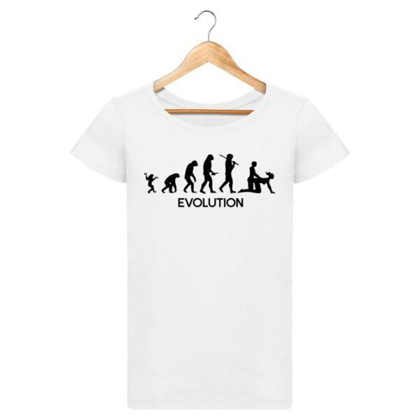 T-Shirt  Evolution  – Pour Femme