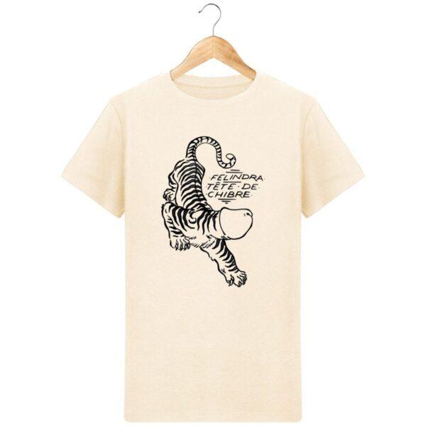 T-Shirt  Félindra, tête de chibre  – Pour Homme