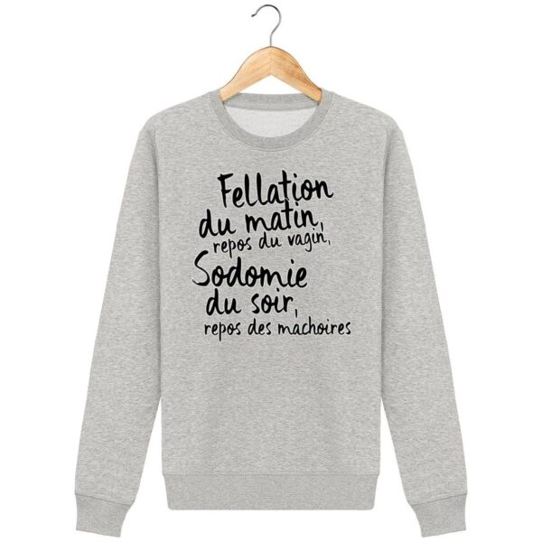 Sweat Fellation du matin - Homme