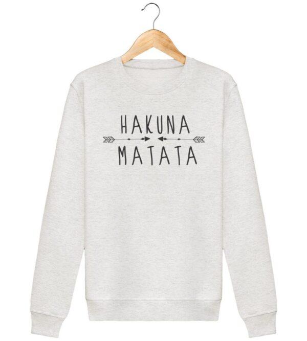 Sweat Hakuna Matata - Unisexe