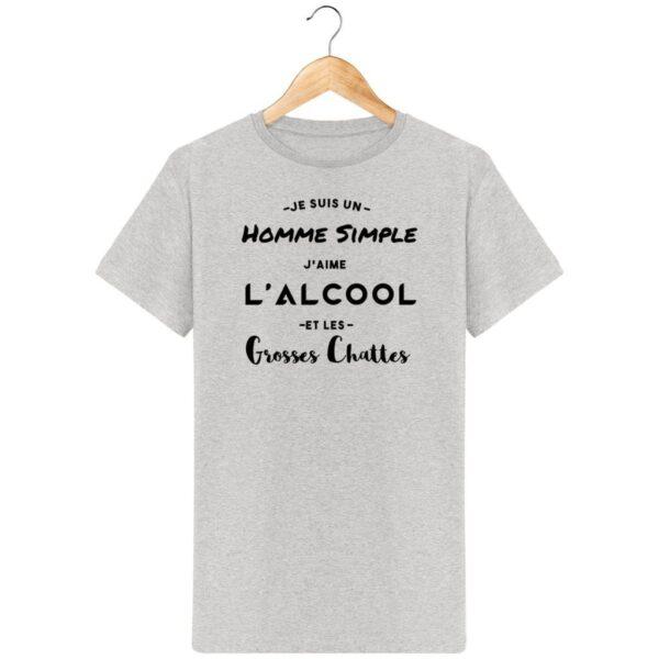 T-Shirt Je suis un Homme simple - Pour Homme