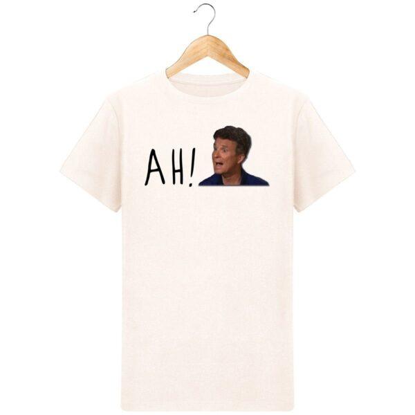 T-Shirt  Denis Brogniart Ah  – Pour Homme