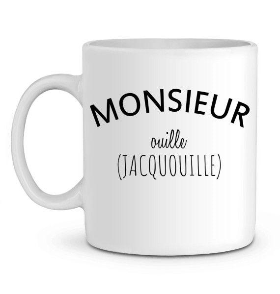 Mug en Céramique Monsieur Ouille