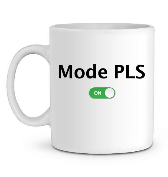 Mug en Céramique Mode PLS ON