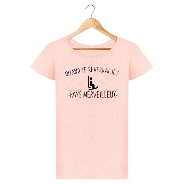 T-shirt Pays Merveilleux - Pour Femme
