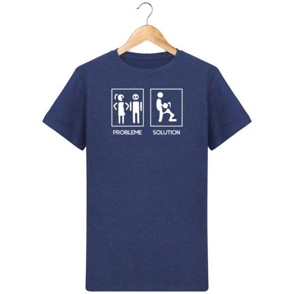 T-Shirt Problème / Solution - Pour Homme