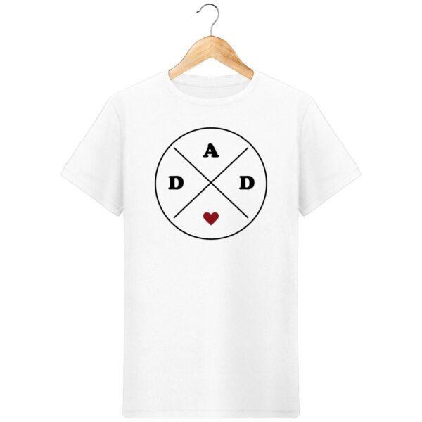 """T-Shirt DAD <3"""" - Pour Homme"""