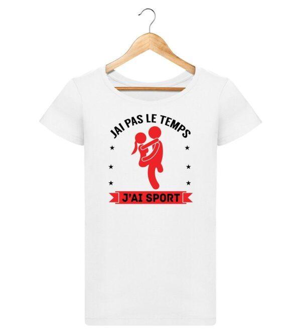 T-shirt J'ai sport - Pour Femme
