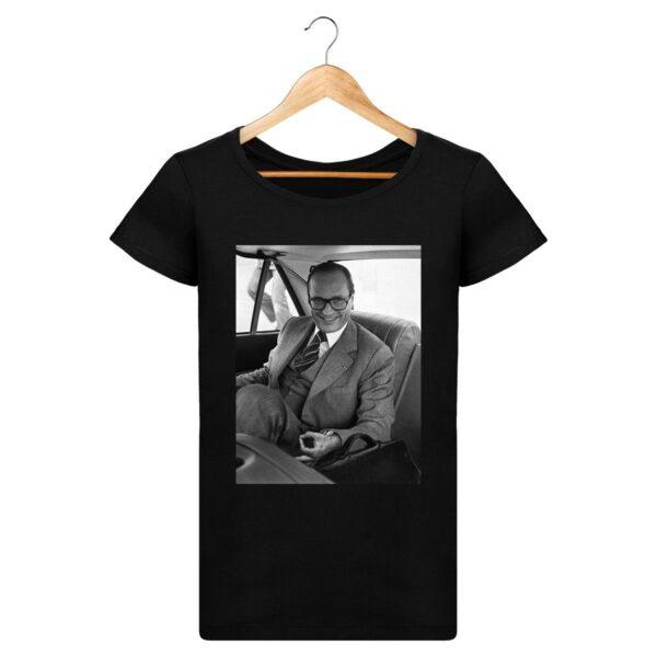 T-shirt Jeux du rond Chirac - Pour Femme
