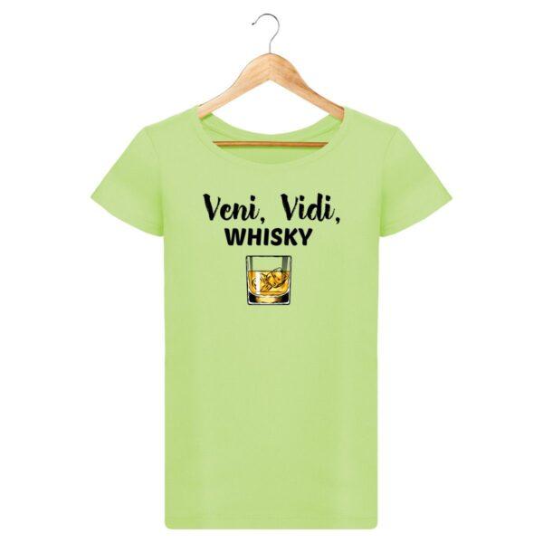 T-shirt Veni Vidi Whisky - Pour Femme