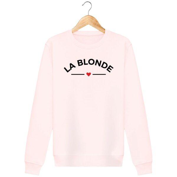 Sweat La Blonde - Pour Femme