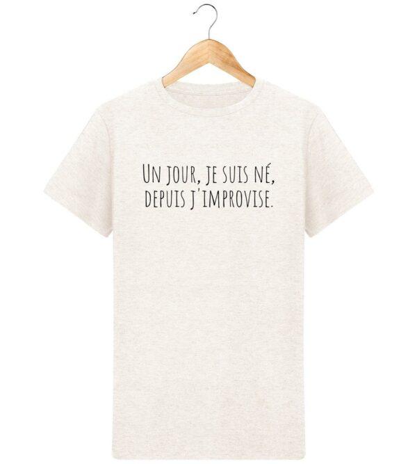 T-Shirt J'improvise - Pour Homme