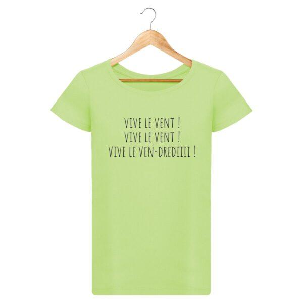 T-shirt Vive le Vendredi - Pour Femme