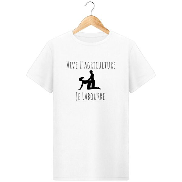 T-Shirt Je Labourre - Pour Homme