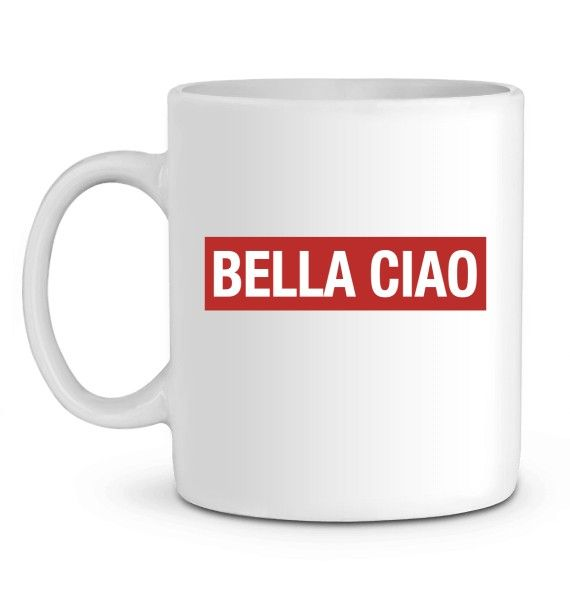 Mug en Céramique Bella Ciao