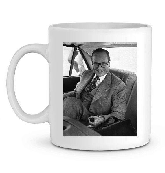 Mug en Céramique Jeux du rond Chirac