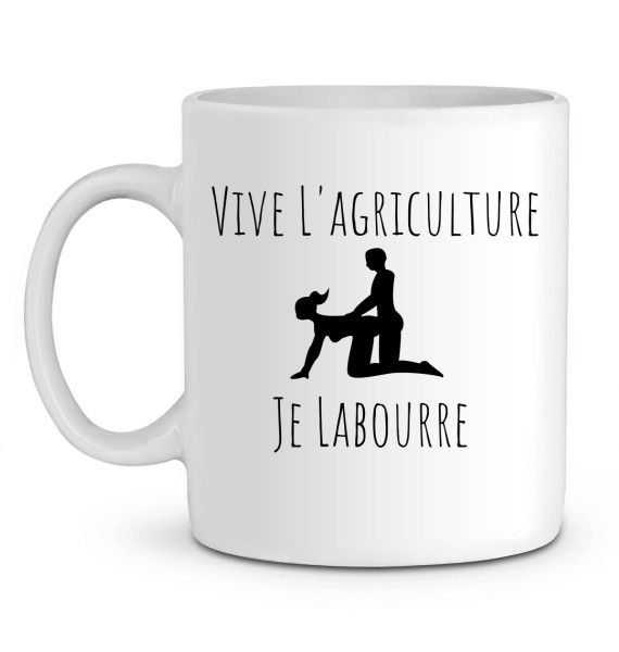 Mug en Céramique Je Labourre