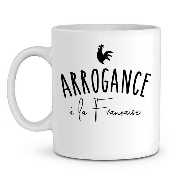 Mug en Céramique Arrogance à la Française