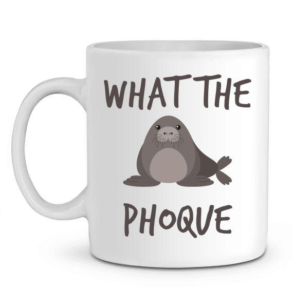 Mug en Céramique What the phoque