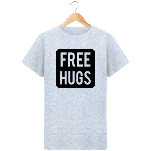 T-Shirt Free Hugs - Pour Homme