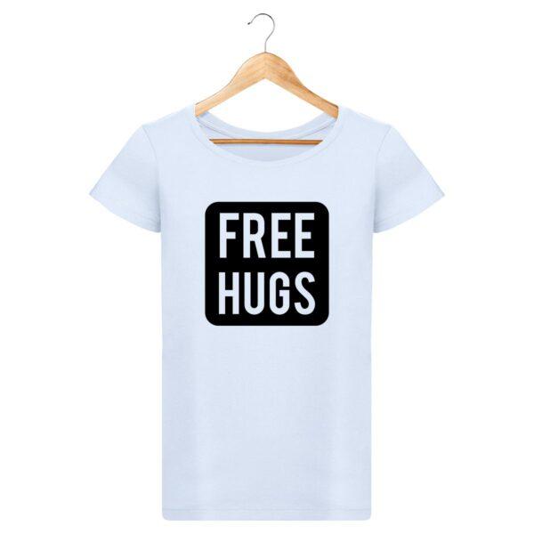 T-shirt Free Hugs - Pour Femme