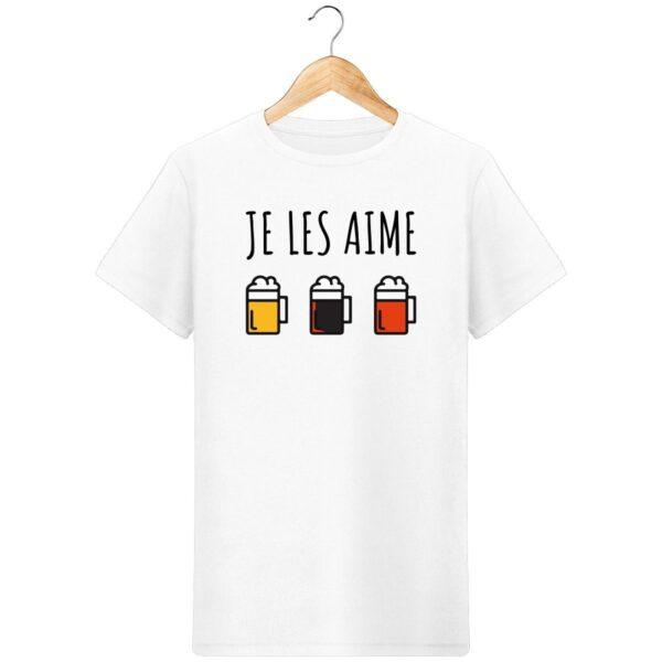 T-Shirt Je les aime (les bières) - Pour Homme