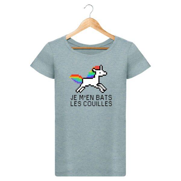 T-Shirt  Je m'en bats les couilles  – Pour Femme