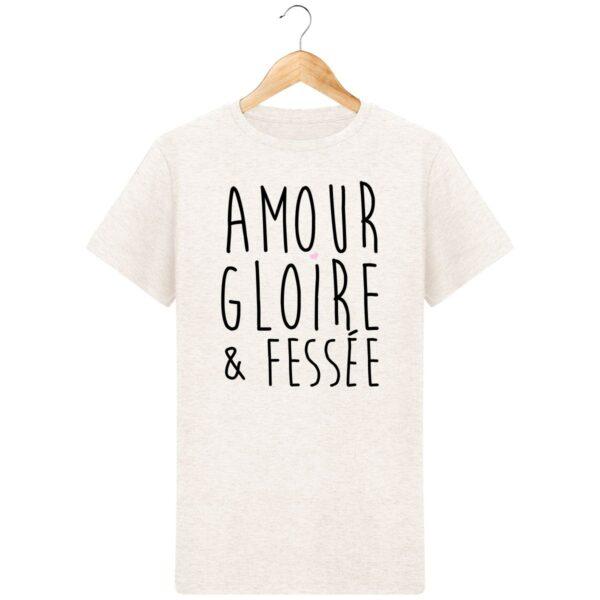 T-Shirt Amour Gloire & Fessée - Pour Homme