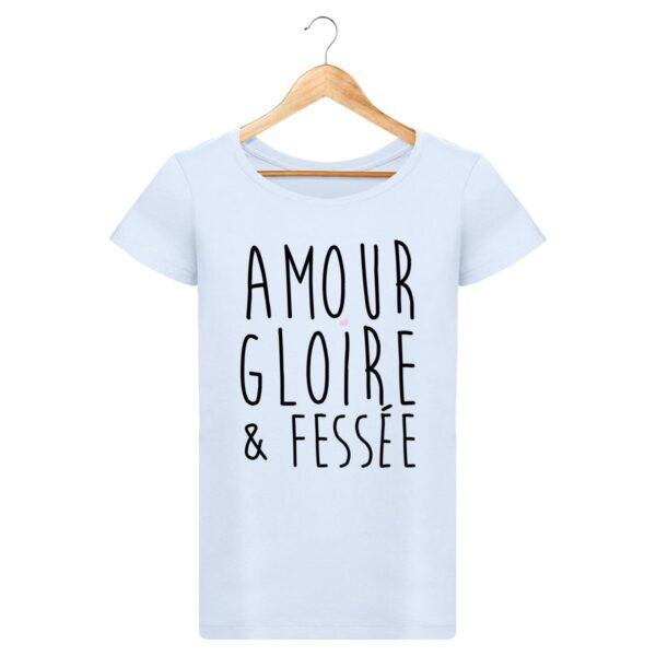 T-shirt Amour Gloire & Fessée - Pour Femme