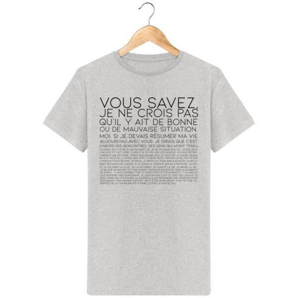 T-Shirt Vous Savez... - Pour Homme
