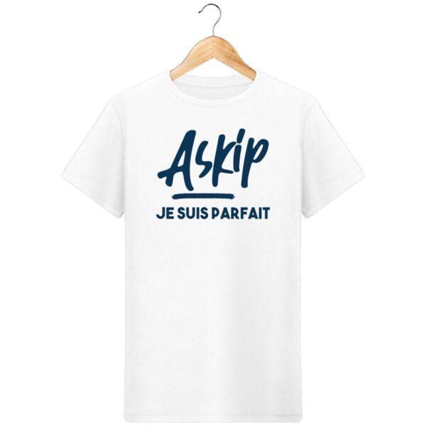 T-Shirt ASKIP, Je suis parfait - Pour Homme