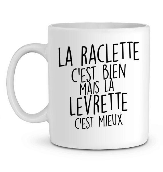 Mug en Céramique La Raclette c'est bien