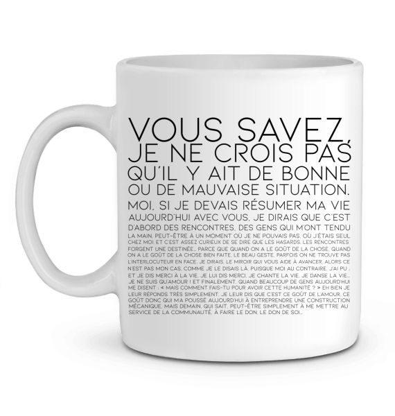 Mug en Céramique Vous Savez...