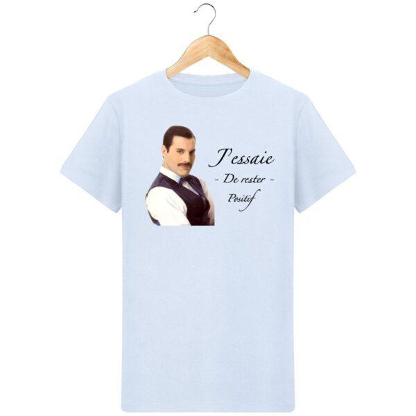 T-Shirt Rester positif - Freddie Mercury - Pour homme