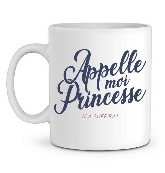 Mug en Céramique Appelle-moi Princesse