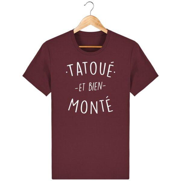 Tee Shirt Tatoué et bien monté - Pour Homme