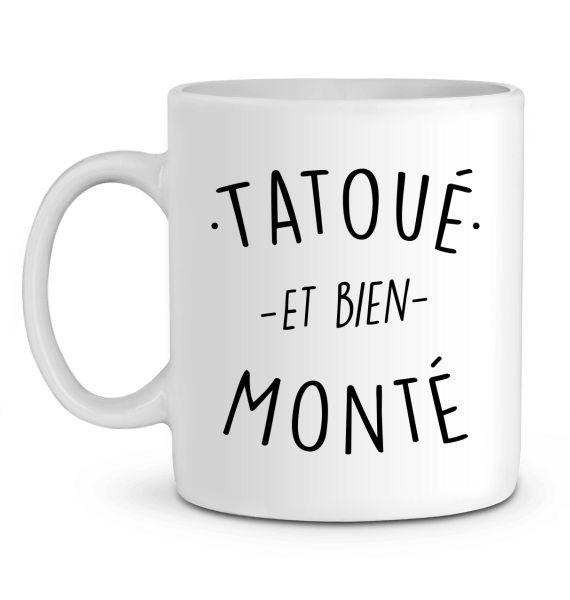 Mug en Céramique Tatoué et bien monté