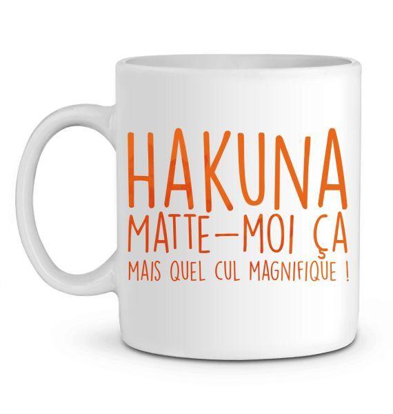 Mug en Céramique Hakuna Matte-moi ça