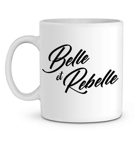 Mug en Céramique Belle et Rebelle