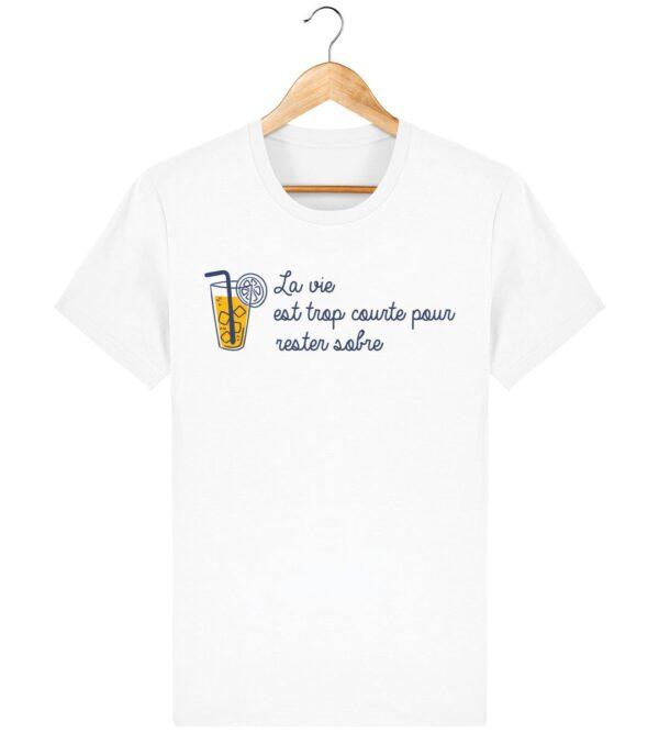 Tee Shirt La vie est trop courte - Pour Homme
