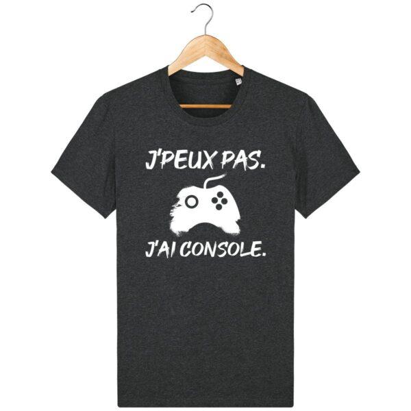 Tee Shirt J'peux pas j'ai console - Pour Homme