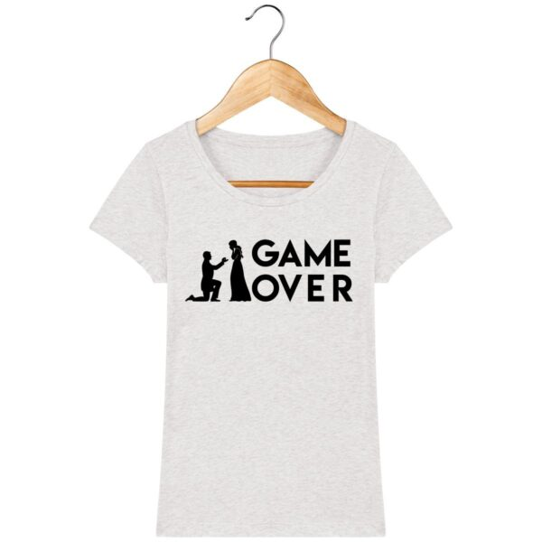 Tee Shirt Game Over - Pour Femme