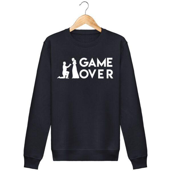 Sweat Shirt Game Over - Unisexe