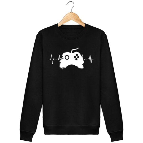 Sweat Shirt GAMER - Unisexe