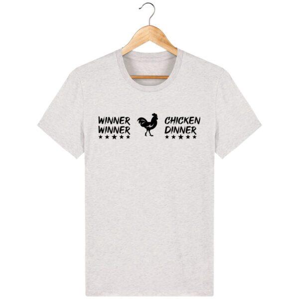 Tee Shirt PUBG Winner Winner Chicken Dinner - Pour Homme