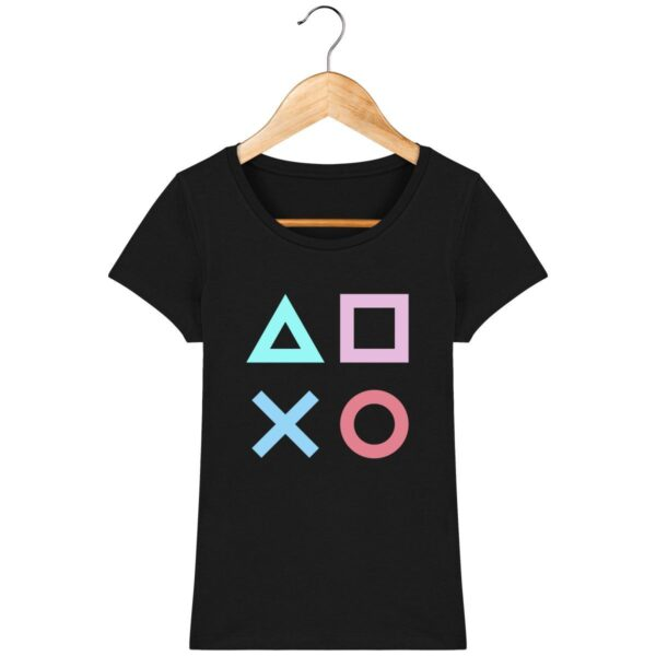 Tee Shirt Playstation - Pour Femme
