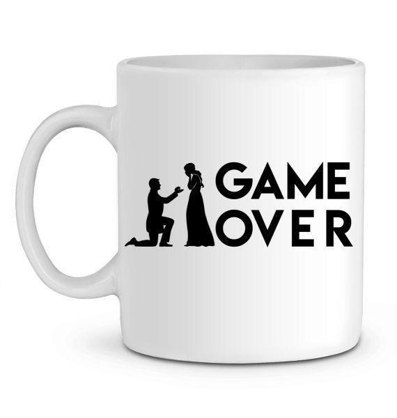 Mug en Céramique Game Over