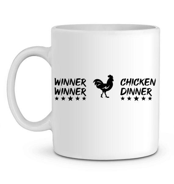 Mug en Céramique PUBG Winner Winner Chicken Dinner